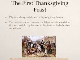 what year was the pilgrims thanksgiving divascuisine