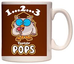 owl mug brown tootsie pop owl mug contemporary mugs by imaginarium goods