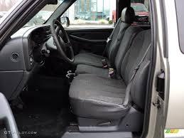 2002 Chevy Silverado Interior Graphite Gray Interior 2002 Chevrolet Silverado 1500 Extended Cab