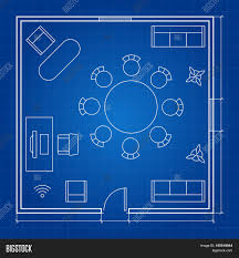 Interior Design Floor Plan Symbols by Home Office Layout Floor Plan Furniture Space Planning And