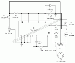 solar power inverter circuit