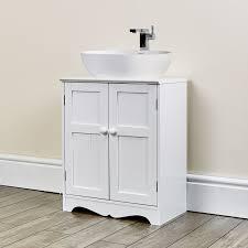 oxford white under sink storage unit abreo home furniture