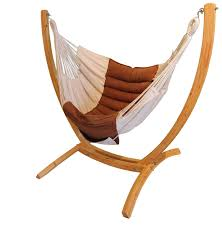 hanging chair stand u0027arc u0027 made of larch wood