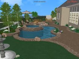 3d pool u0026 landscape designs swimming pool design warren built