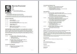 Creating A Resume On Word Make A Cv Coinfetti Co