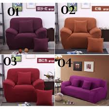 4 Seat Reclining Sofa by Joona Elastic Sofa Cover 1 2 3 4 Seater L Shape Lounge Chair Cover