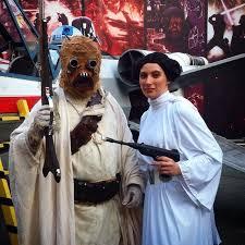 Princess Leia Halloween Costume Princess Leia Jabba Hutt Star Wars Couple Costumes