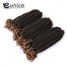 spring twist braid hair eunice 12inch short spring twist hot havana kinky twist braids