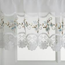 hci curtain vintage embroidered kitchen curtain window treatments