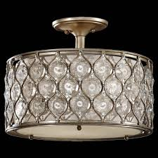 low price light fixtures murray feiss sf289bus lucia semi flush fixture in burnished silver