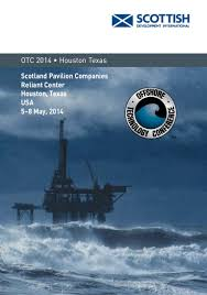 Otc Floor Crane by Scotland Pavilion At Otc 2014 Come And Meet Us