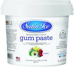 satin ice fondant white vanilla 5 lb amazon com grocery