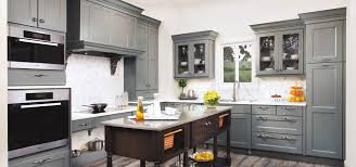 gray stained kitchen cupboards the psychology of why gray kitchen cabinets are so popular