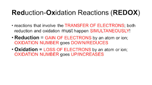 aim what are oxidation and reduction do now 1 sketch the