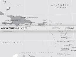 Map Of The Caribbean Islands by Printable Map Of The Caribbean Islands With Capitals And Cities