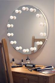 makeup mirror with bulbs lights decoration
