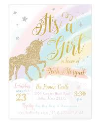 girl baby shower invitations unicorn baby shower invitation unicorn baby shower invite