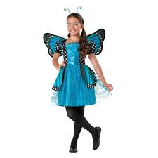 Halloween Costumes Fir Girls Totally Ghoul Girls Blue Sparkle Butterfly Halloween Costume
