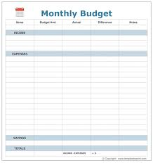 Excel Spreadsheet Template Monthly Budget Excel Spreadsheet Template Planner Worksheet