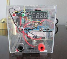 Variable Bench Power Supply With Lcd And Monitor Display Build Your Own Variable Lab Bench Power Supply Labs Bench And