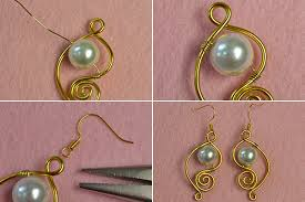 easy earrings diy earrings fashion and accessories