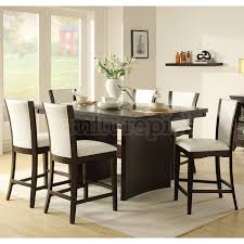 High Dining Room Tables And Chairs Height Of Dining Room Table Design Ideas