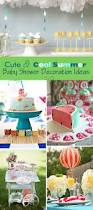 Baby Shower Decor Ideas by Cute U0026 Cool Summer Baby Shower Decoration Ideas
