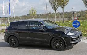 scoop porsche says nein to buttons for 2018 cayenne u0027s cabin