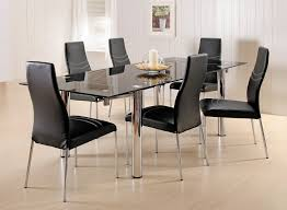 Stacking Chairs Design Ideas Dining Room Extraordinary Design Ideas Using Black Leather