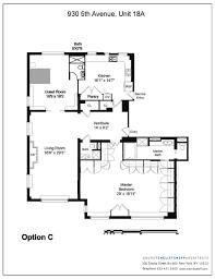 nyc floor plans 930 fifth avenue apt 18a new york ny 10021 sotheby u0027s