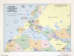 Blank Map Of North Africa by Map Of Europe And North Africa Roundtripticket Me