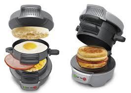 Toaster With Egg Maker Gadgets Hamilton Beach Breakfast Sandwich Maker Serious Eats