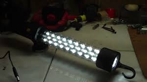 Rechargeable Work Lights by Craftsman Led Work Light Youtube