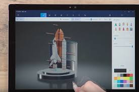 is paint any windows 10 tip how to start creating in paint 3d