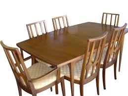 Broyhill Dining Chairs Broyhill Brasilia Dining Table And 6 Chairs Original Table Pads