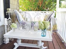 Small Porch Chairs Give Your Outdoor Spaces Character With Flea Market Finds Hgtv