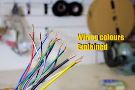 symbols wires colours wire colors for different voltages u201a wires