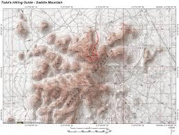 Phoenix Mountain Preserve Map by Saddle Mountain