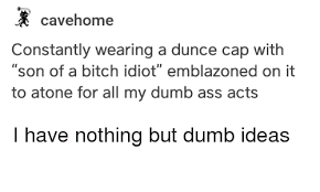 How To Make A Dunce Cap Out Of Paper - cavehome constantly wearing a dunce cap with of a idiot