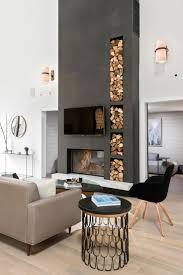 living room home decor 4 beautiful glossy black stone fireplace