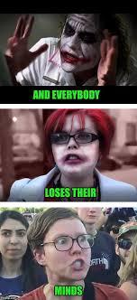 Meme Medley - joker feminist liberal medley imgflip