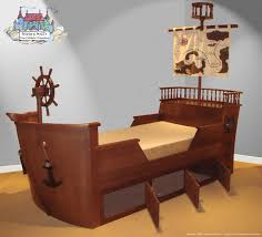 Pirate Bedroom Furniture Bed Boys Pirate Bedroom