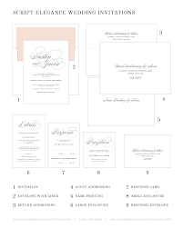 wedding invitations with response cards script elegance wedding invitations wedding invitations by shine