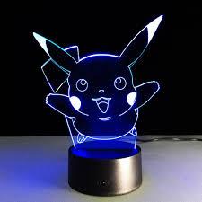 aibulb new pokemon go pikachu 3d night light action figue led toy