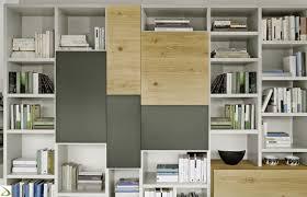 arredo librerie parete libreria in legno di design donnie arredo design