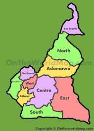 map of cameroon cameroon maps maps of cameroon