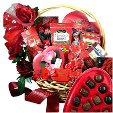 Valentine S Day Gift Ideas For Her Pinterest Diy Valentines Day Gift Baskets For Her Homemade Valentine Basket