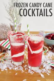 candy cane cocktail the chic site