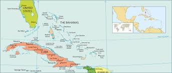 bahamas on a world map detailed political map of bahamas bahamas america