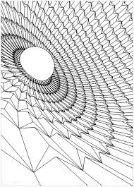 black hole psychedelic coloring pages for adults justcolor